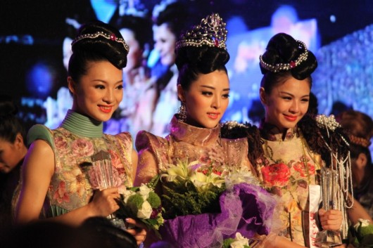 Miss World China - final three