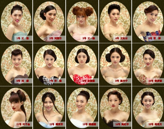 Miss World China contestants