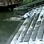 Old Man Falls Into Pond, Does Not Drown And Die Thanks To Good Samaritan