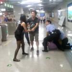 Rich girl won't go through Beijing subway security