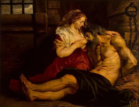 Roman Charity by Pieter Pauwel Reubens