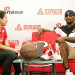 Ron Artest in China