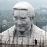 The Weird Demolition Of A 27-Meter-Tall, Two-Year-Old Statue Resembling Sun Yat-sen's Wife