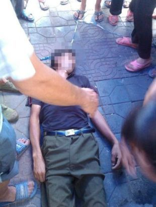 Vendor beaten to death by chengguan in Hunan