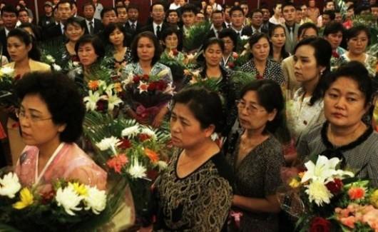 Wax Kim Jong-il people's reactions 2