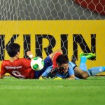 East Asian Cup: China vs South Korea, brilliant save by Zeng Cheng