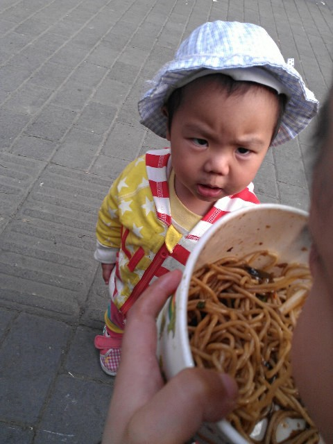 64 Baby wants noodle