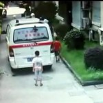 Ambulance runs over 6-year-old featured image