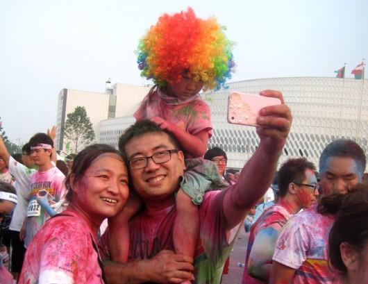 Beijing Color Run by Patrick Lozada