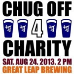 Introducing: The Beijing Cream Chug-Off For Charity, August 24