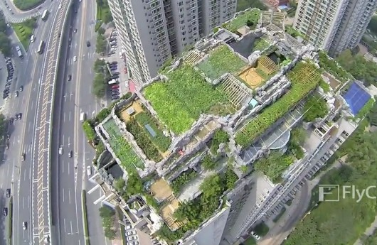 Bird's-eye view of high-rise villa 3