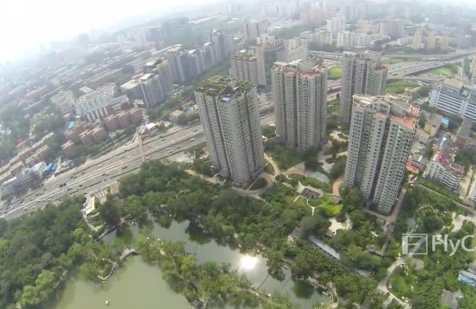 Bird's-eye view of high-rise villa 6