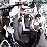 The Moment Half Of A Bus's Passengers Are Thrown Out Of The Window