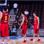 China vs Chinese Taipei in FIBA Asia