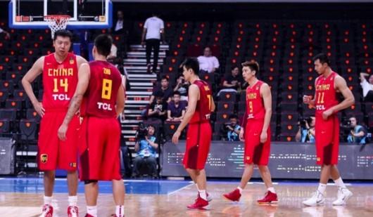China vs Chinese Taipei in FIBA Asia