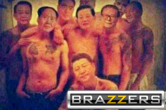Chinese leaders shirtless Brazzers