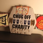 Here's The Chug-Off For Charity Championship Belt