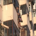 Dramatic rescue of suicidal woman