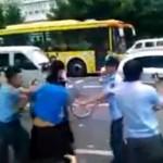 Guangzhou chengguan fight Xinjiang vendors