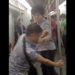 Guangzhou subway fight