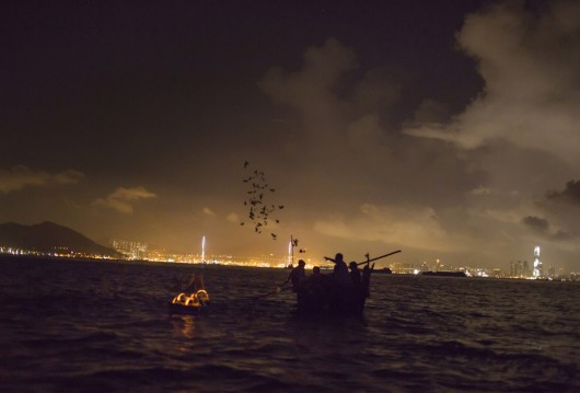Hungry Ghost Festival in Hong Kong 2013