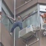 Watch: Firefighter Saves Suicidal Woman In Guizhou