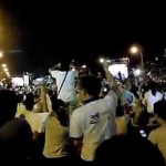 Taiwan protesters sing Les Mis