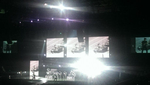Tiananmen Tank Man at Cirque du Soleil