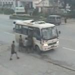 Watch: Unarmed Firefighter Neutralizes Gun-Toting Bus Robber