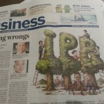 China Daily's Monday Business Page Was Dong-tastic
