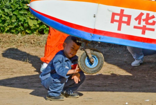 5-year-old boy flies plane 2