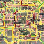 Beijing traffic map