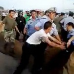 Chengguan brawl with PLA soldiers