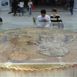 Here's A 1,320-Pound Mooncake In Changchun [Update: An Even Bigger One In Hefei!]