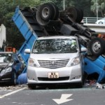 Watch An Eight-Car Pileup Happen In Real Time (Set To Music)