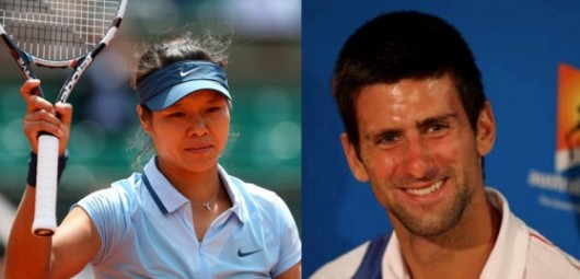 Li Na vs. Novak Djokovic