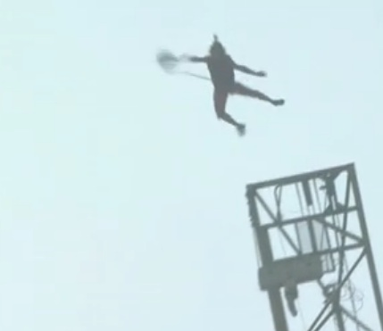 Michael Kemeter jumps off Changsha's highest building 2