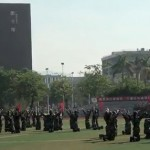 Watch: Chinese Cadets Channel Their Inner Glee In Cute Dance