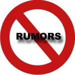 No rumors