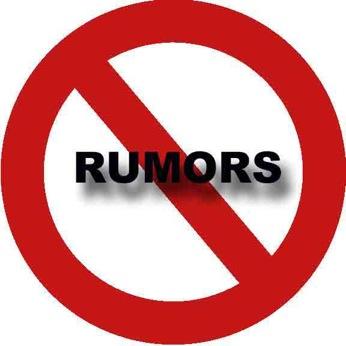 No rumors