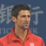 Novak Djokovic Speaks Chinese After Exhibition Against Li Na At Beijing Open