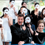 Brad Little And Claire Lyon In Shanghai To Promote Phantom Of The Opera