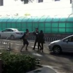 Sina office fight