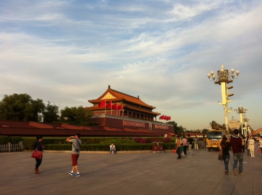 Tourists are expected to flock to Tiananmen this week during National Day holiday. Here's a reminder that the gate you see isn't exactly the gate of history.