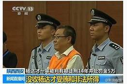 Yang Dacai smiling official Brother Watch sentenced