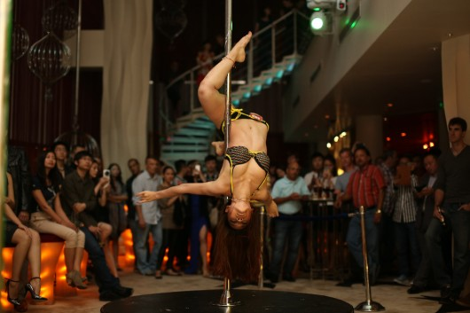 Zeta Bar Pole Dancing Competition 2013