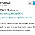 "CCTV News Still Reeling From Zhou Yongkang Tweet, Says It Was ""Targeted"""