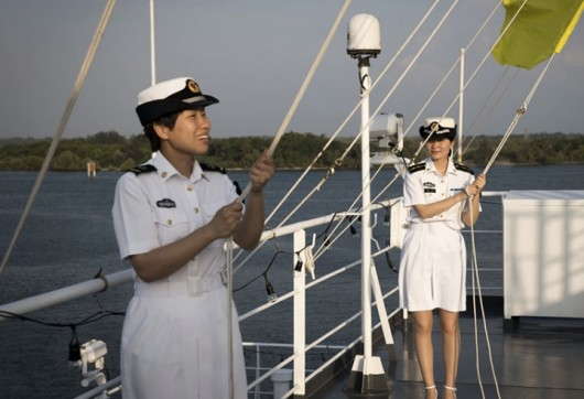 Charm of Chinese navy soldiers 2