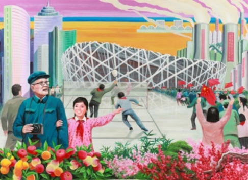 China as depicted by North Korean artists 2