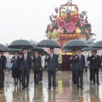 Chinese leaders honor martyrs